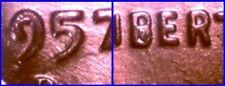 GEM BU 1957-D 1c DDO 1-O-III Liberty etc. VERY NICE NR!
