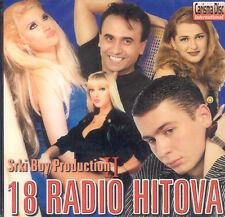 18 RADIO HITOVA CD Vera Matovic Lepa Brena Slavko Spira Beki Bekic Indira Jovana
