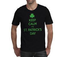 St. Saint Patricks Day Keep Calm Funny slogan - S M L XL 2XL - unisex T Shirt