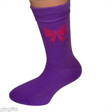 Cute Pink Bow Design Childrens Socks - will suit Boy or Girl kids socks