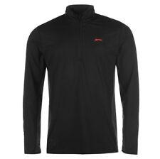 Slazenger Herren Trainings Sweatshirt Half Zip Top Pullover M L XL 2XL neu