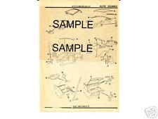1956 1957 1958 1959 1960 VAUXHALL 56 57 58 59 60 BODY PARTS LIST CRASH SHEETS MF