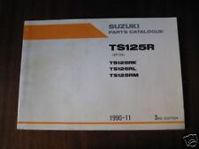 Teilekatalog Suzuki TS 125 R, Stand 1990