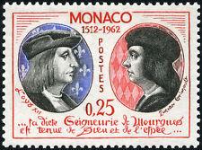"MONACO N° 576 ""LOUIS XII ET LUCIEN GRIMALDI 25 C"" NEUF xx TTB"