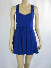 T by Bettina Liano Ladies Fashion Sleeveless Mini Dress sizes 6 8 Colour Blue