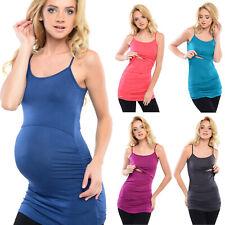 Purpless maternidad 2in1 el embarazo y la lactancia Vest de Superdry con correas de ajuste D8021