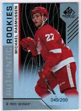 18/19 2018 SP GAME USED HOCKEY ROOKIES RC RAINBOW CARDS 101-200 U-Pick From List