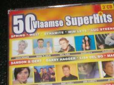 50 VLAAMSE SUPERHITS (3 CD - 2003) Clouseau, Mama's Jasje, Will Tura, Yasmine...