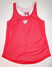 Pro Edge  Wisconsin Badgers Womens/Juniors Jersey Impack Gear Mesh NWT