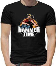 Stop Hammer Time Herren T-Shirt - Heimwerker - Handwerker - Bauherr - Tischler -