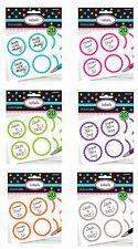 20 Sticker rund zum selbst beschriften Label Etiketten Geschenk Aufkleber neu
