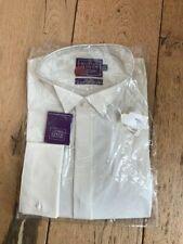 Richard Jones Elfenbein Kragen Shirt pflegeleicht 16 41 Bnwt