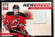 ADAM HENRIQUE 2011-12 ELITE NEW BREED GAME WORN JERSEY - ROOKIE