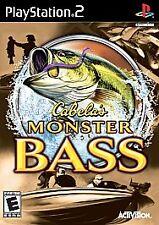 Cabela's Monster Bass PlayStation 2 PS2 -- CIB