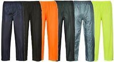 Portwest Classic Adult Rain Trouser Elasticated Waist Water Proof Pants S441