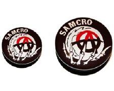 "HIP MALE New 1 x Sons of Anarchy ""Samcro"" Logo Ear Plug Screw Up Flesh Tunnel"