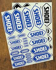 Shoei Pegatina conjuntos-que comprende 24 Pegatinas-Calcomanías-motociclismo individuales