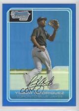 2006 Bowman Chrome Prospects Blue Refractor #BC191 Yuber Rodriguez Toronto Jays