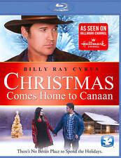 Christmas Comes Home to Canaan (Blu-ray Disc, 2012) Billy Ray Cyrus, Hallmark