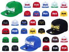 Deutsche Städte Snapback Baseball-Cap Cappy Truckercap Base-Cap Schirm-Mütze