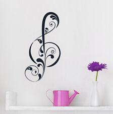 Violinschlüssel - Notenschlüssel Noten Musik Wohnzimmer Wandaufkleber WandTattoo