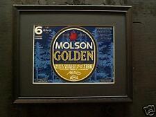 MOLSON GOLDEN    BEER SIGN   #21