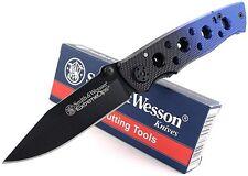 Couteau SMITH&WESSON S&W Extreme Ops Folder - Acier 440C Black SW111