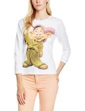 Maglietta donna Maniche Lunghe Cucciolo 7 Nani Disney N05633