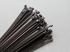 Kabelbinder Schwarz  in verschiedenen Größen   UV-Beständig 100/200/500/1000 St.