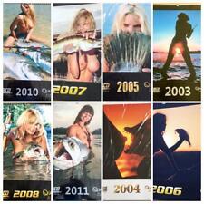 Calendario Pesca O. Portrat 2003-2011 Fishing Calendar Sexy  Vintage 2003-2011