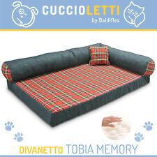 CUCCIA DIVANO CANE MORBIDA CON MATERASSO MEMORY LETTO CANE TOBIA by Cuccioletti