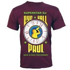 T-shirt Eye Ball Paul Men's Burgundy