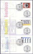 BRD 1983: Walter Gropius! Bauhaus! FDC Nr. 1164-1166 mit Bonner Stempeln! 1702