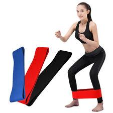 Hip Circle Band Fitness Elastic Band Hip Lifting Resistance Anti-slip YogaBand#K
