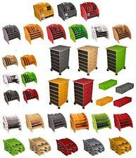 Werkhaus - Ablage Organizer Rollcontainer Brief- Stifte- Halter für Schreibtisch