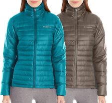NEW COLUMBIA POWDER PILLOW HYBRID JACKET Women's M-L-XL Puffy Choose Blue/Brown