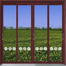 CIRCLE VINYL ETCH PATIO/ DOOR/ WINDOW/ MIRROR FROSTED GLASS ART STICKERS
