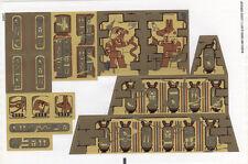 LEGO 7327 - PHARAOH'S QUEST - Scorpion Pyramid - STICKER SHEET