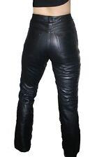 Womens Premium Genuine Lamb Leather 5 Pockets Jeans Style Pants BLOW OUT SALE