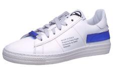 Sneaker von Momino 4040 Teen Sport Halbschuhe Leder Weiß Gr. 34  - 41 Neu