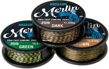 Kryston Merlin Sinking Braid braided hook length material