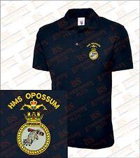 HMS Opossum Embroidered Polo Shirts