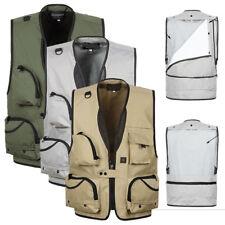 Outdoor Men Pockets Photographer Director Vest fishing Waistcoat Jacket Large SZ