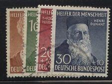 Germany B327-330 used catalog $94.00 nice cancels