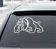Bulldog Dog Simons cat Funny Gas Fuel Tank Animal Decal Sticker Window I