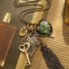 Collana Pendente Ali Cuore Perle sintetiche Love Wing Hearth Ufo Stone pearls