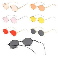 Fashion Men Women's Vintage Round Sunglasses Cute Retro Small Mirror Glasses