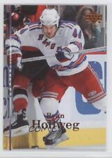 2007-08 Upper Deck #121 Ryan Hollweg New York Rangers Hockey Card