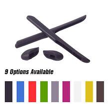 Walleva Earsocks/Nosepads For Oakley Fast Jacket/XL Sunglasses -Multiple Options