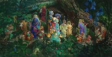 James Christensen ROYAL PROCESSIONAL, Forest, Faeries MasterWork™ Giclee Canvas